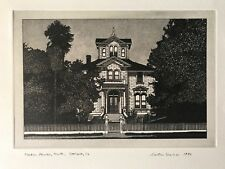 """MARTIN LEVINE """"PARDEE HOUSE, SOUTH"""" Signed"""