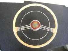PETRI STEERING WHEEL - WITH SUN MOON HORN BUTTON AND RING - PORSCHE 356