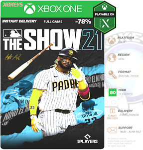 MLB The Show 21 Xbox One/SeriesX/S   Digital Code 🖥️ INSTANT ✨OFFICIAL ✅ VPN 🗺