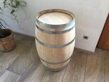 Faßtisch Stehtisch Holzfaß Weinfaß gebraucht Barriquefaß kastanieTischfaß 100L