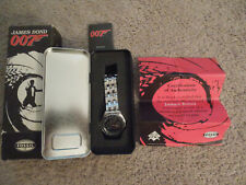 NEW James Bond 007 Special Ltd. Ed. Watch by Fossil. S Steel Band. Box/Tin. Rare