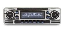 Classic Retro Mechless BLUETOOTH USB AUX Car Stereo Radio Player CHROME RMD120BT