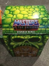 masters of the universe Motu eternia minis set of 7 A-G and box.