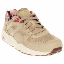 630bf89207c7 PUMA Mens R698l Tropicalia Tan Leather Lace up SNEAKERS Shoes 11