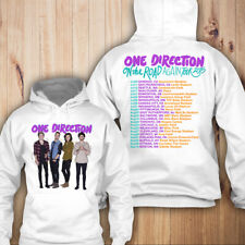 One Direction On The Road Again 2015 Tour Merch back and front Hoodie