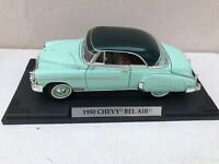 Motor Max 1950 Chevy Bel Air Hard Top Green 1:18 Scale Diecast Model Car