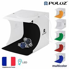 Photographie Studio Tente pliable boite lumiere 2LED Color Photo Portable Puluz