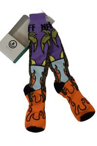 NEFF Adult Mens Womens Paradise Palms Snow Snowboard Sock Socks New 19F20001