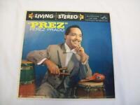 "RCA Victor Records ""Prez"" Perez Prado Vinyl Record 1958"
