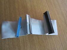 NAPPE IDE 45cm 3 CONNECTEURS POUR TOUT DISQUE DUR ATA CD-ROM ou DVDROM IDE 45 CM