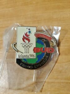 1996 Atlanta Summer Olympics 100 year Blimp Pin Budweiser Bud Olympic Sponsor