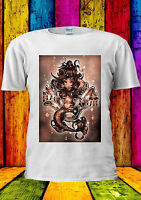 Mermaid Ariel Art Paint Black Pearl T-shirt Vest Tank Top Men Women Unisex 2195