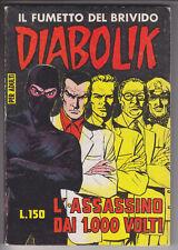 DIABOLIK prima serie ORIGINALE  n.   24 - 1964  ottimo/edicola