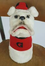 Vintage Dakin Georgia Bulldog UGA Plush Hand Puppet Stuffed Animal Toy 1978