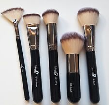 London Pride HD MAKE-UP lucidatura Contour Kabuki Fan Blush Brush Set Kit di bellezza