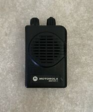 Motorola Minitor V (5) 2Ch Stored Voice Vhf Pager for parts or not working