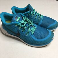 Nike Free 5.0 Running Shoes Women's Size 8 Athletic Shoe