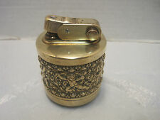 erhard and sohne lighter gold tone table lighter