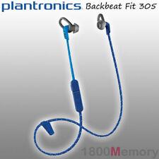Plantronics BackBeat Fit 305 Bluetooth Wireless In-Ear Headphones Earbuds Blue