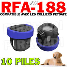 10 PILES COMPATIBLE PETSAFE RFA-188 3V LITHIUM 160mAh SB-188 - QUALITE GARANTIE
