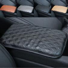 Universal desgaste fijos cuero car reposabrazos cubierta central ajustable box almohada