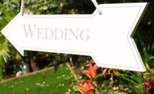 Patternless Wedding Vintage/Retro Decorative Plaques & Signs