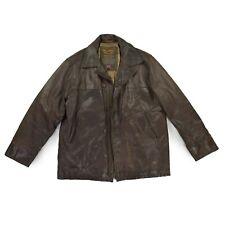 PALL MALL Pme American Classic Herren Jacke XL 54 Echtleder braun TOP Zustand