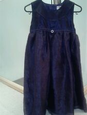 NAME IT PURPLE PARTY DRESS with SHEEN... fully lined :Aged 9-10 years.