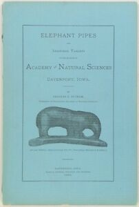 1886 Fake Elephant Pipes & Inscribed Tablets in Iowa - Davenport Fraud & Forgery