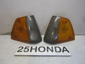 1984-1985 Honda Civic 1500S Stanley Factory Corner Lights 1G Hatch Rare
