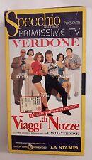CS2> Film VHS Viaggi di Nozze Carlo Verdone