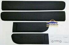 * KIT 4 MODANATURE PORTA FIAT NEW PANDA 2012 > NERE (set fasce adesive)