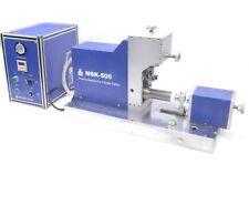 Mti Corporation Msk-500 Desktop Semi-automatic Battery grooving machine w/ Video