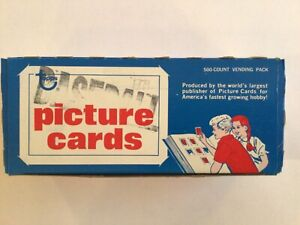 Topps Baseball Cards 1979 500 Count Vending Pack Mint Cards Never Touched