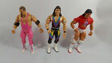 2005 WWE Jakks Jim Neidhart Marty Jannety Tito Santana Classic Series Figure