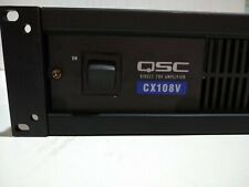 QSC CX108V 8 Channel Power Amplifier