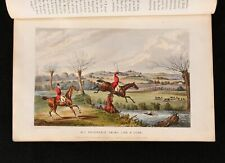 1842 The Life of a Sportsman Nimrod Henry Alken Illustrated First Ed
