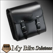 Leather Motorcycle Motorbike universal tool saddle COLLEGE SISSY BAR BAG AC-19
