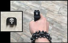 Cover ornement culasse glock - NEUF ( glock 17 19 34 21 etc .. skull punisher )