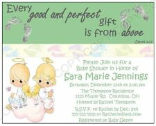 Precious Moments Baby Shower Invitations 12 pk Personalized Any Color or Picture