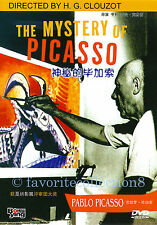 The Mystery of Picasso (1956) - Pablo Picasso, Henri-Georges Clouzot - DVD NEW