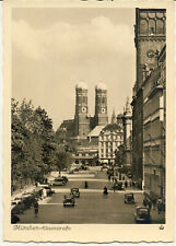 AK München, Elisenstraße, Frauenkirche, Künstlerhaus, Justizpalast, gel. 31.7.43