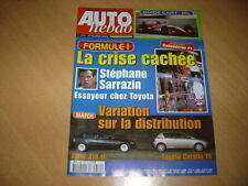 Auto hebdo N°1330 Corolla TS/BMW 318 Ti.Nick Heidfield