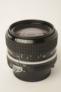 Nikon Nikkor 28mm f/2.8 AI-S Manual Focus Lens Fungus on Internal Element (CN04)
