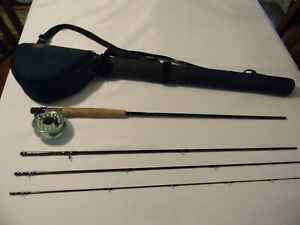 Sage DS2 590-4 Graphite II 9 Ft Fly Rod w/Ross Cimarron 2 Reel and Orvis Case