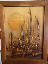 Reed encaustic (wax painting) by Billye