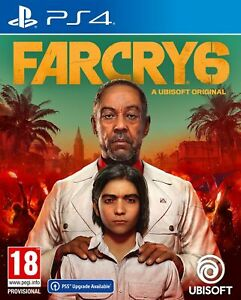 Far Cry 6 (PS4) Pre Order Out 7th Oct Brand New & Sealed Free UK P&P