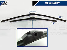 FOR BMW 5 SERIES F10 F11 TOURING FRONT WIPER BLADE BLADES SET 2009- OE QUALITY