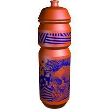 Riesel Flasche Enduro Mountain Bike 750mm Water Drinks Bottle - Orange Skull