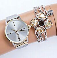 Just Cavalli JC1L078M0045 armbanduhr damenuhr  zweifarbig  neu